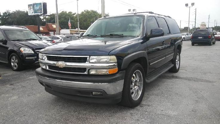 This 2005 Chevrolet Suburban 1500 LT is listed on Carsforsale.com for $1 in Jacksonville, FL. This vehicle includes Running Boards, Front Air Conditioning - Automatic Climate Control, Front Air Conditioning Zones - Dual, Rear Air Conditioning - Automatic Climate Control, Rear Air Conditioning Zones - Dual, Steering Wheel Trim - Leather, Adjustable Pedals - Power, Center Console - Front Console With Storage, Cruise Control, Dimming Rearview Mirror - Auto, Memorized Settings - Driver Seat…
