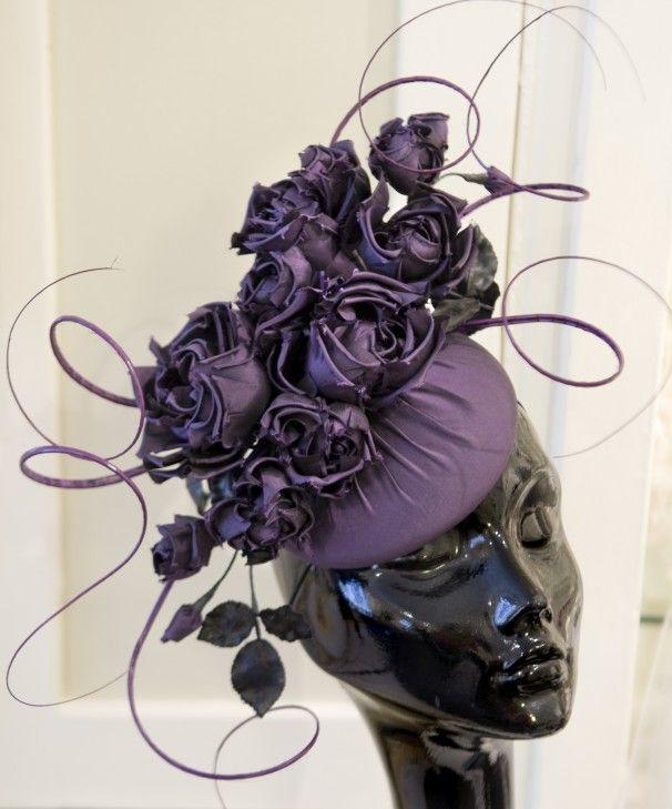 TOBY OF LONDON  WOMANS HATS   ... the custom fancy hats made by designer Rachel Trevor-Morgan in London