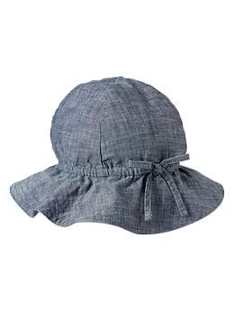 Chambray sun hat - 12-18 Months for Next Year! :-)