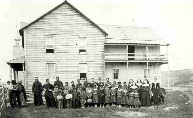 THE WILDLY DEPRESSING HISTORY OF CANADIAN RESIDENTIAL SCHOOLS a must read
