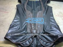 Black&Darkbrown long hip soft leather fullbust corset Best Seller follow this link http://shopingayo.space