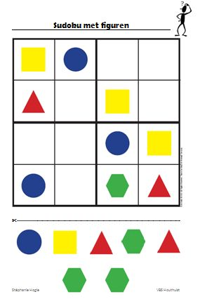 Gietjes Corner: Sudoku 4x4 - figuren
