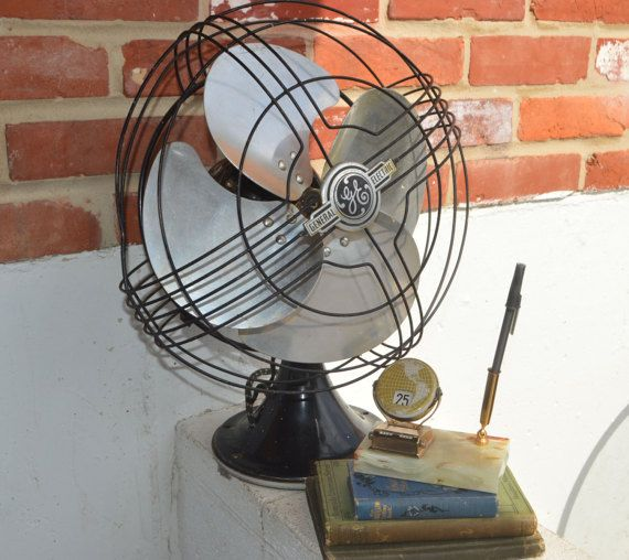 General Electric Industrial Fan. Made in U.S.A. by oldchurchstore