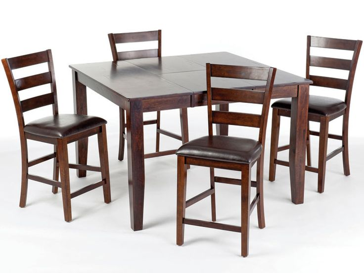 Kona, Kona Rectangular/Square Counter Height Leg Table Dining Room Set, Dining  Room Table Sets, Bedroom Furniture, Curio Cabinets And Solid Wood Furniture  ...