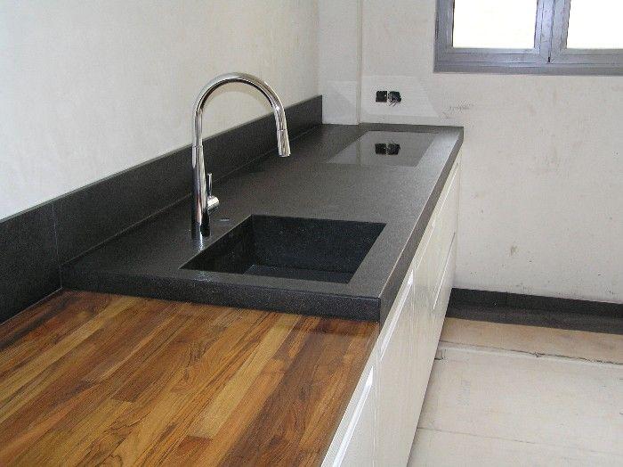 25 beste idee n over graniet op pinterest keuken granieten aanrecht granieten aanrecht en - Terras teak zwembad ...