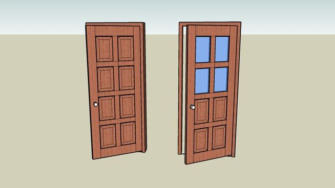 123 best 3dwarehouse images on pinterest html for Door 3d warehouse