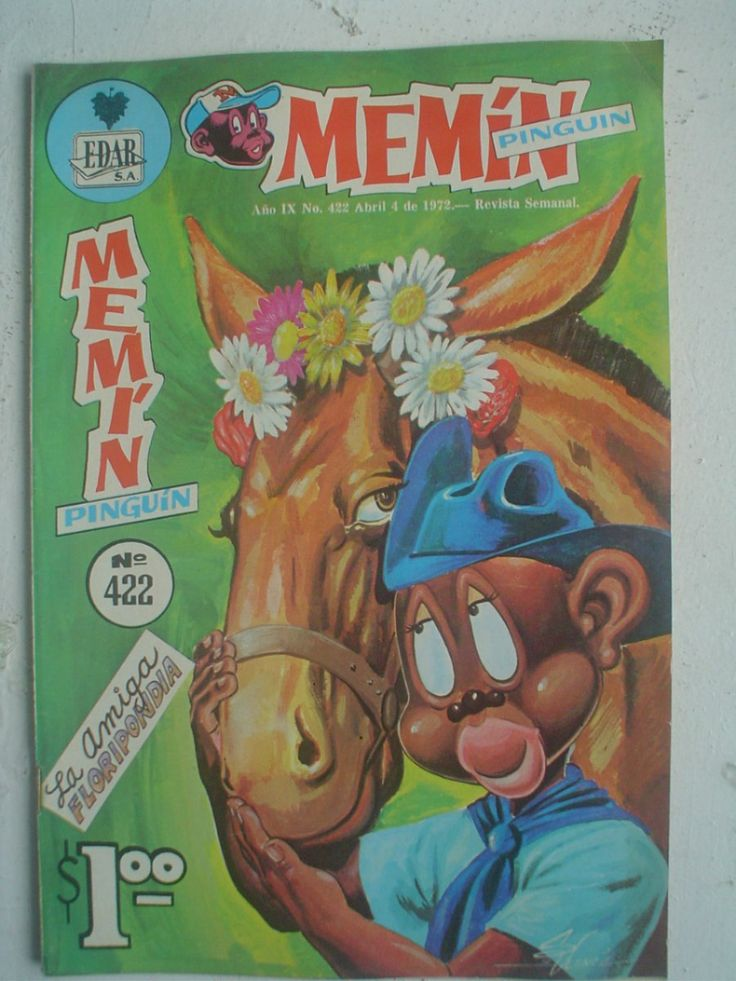 Revistas Mexicanas Comics De Amor | Comic Revista Memin Pinguin Nº422 De 1972