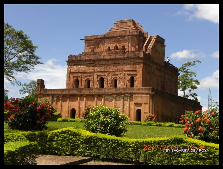 Karenghar- Palace of the Ahom Kings of Assam who ruled the place for about 600 years.