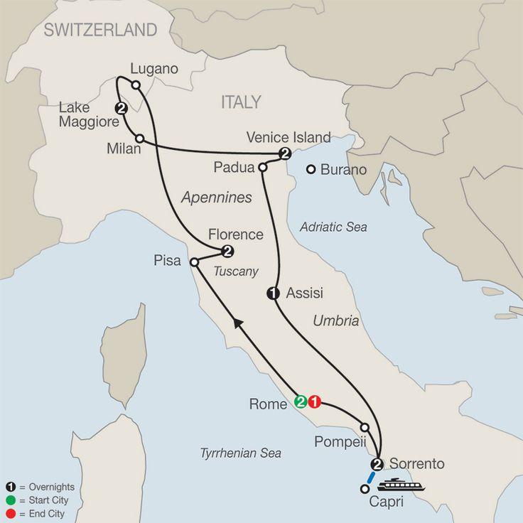 Italian Mosaic | Globus Tour - TripCentral.ca
