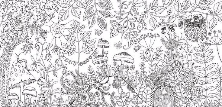 Artystka tworzy kolorowanki dla dorosłych i sprzedała już ponad 1 000 000 kopii.