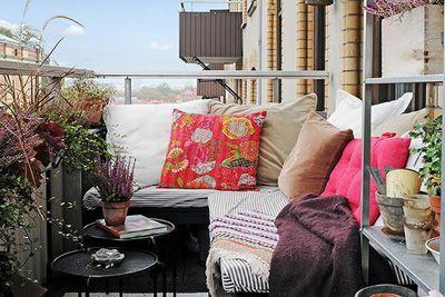 Küçük Balkon İçin Dekorasyon Önerileri - 10