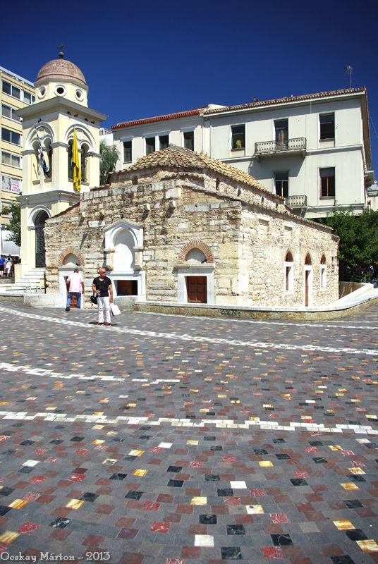 Pantanassa chuch in Monastiraki (was built in the 17th century and restored in 2007)