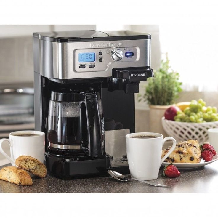2way Coffee Maker with Automatic 2Hour ShutOff and