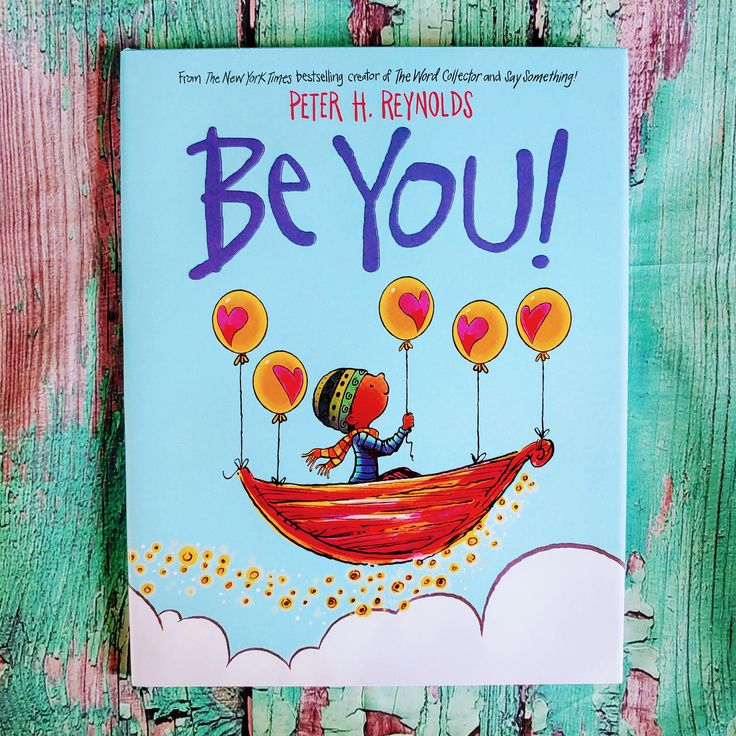 Its a new book by peter h reynolds readers are reminded