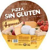 Pizzas congeladas hacendado en mercadona. Muchísima variedad. También sin gluten y para microondas.