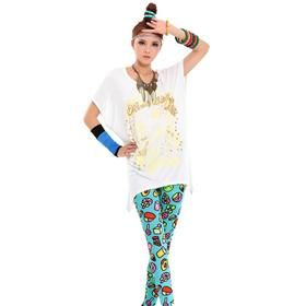 Cooreena Hot Stamping Die Skull T-shirt  18.5$USD