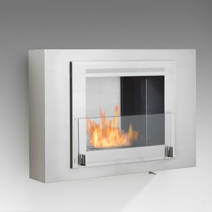Wellington - wall mounted fireplaces - Bio ethanol fireplaces - Eco-Feu - indoor outdoor - modern fireplaces | Boutique Eco-Feu