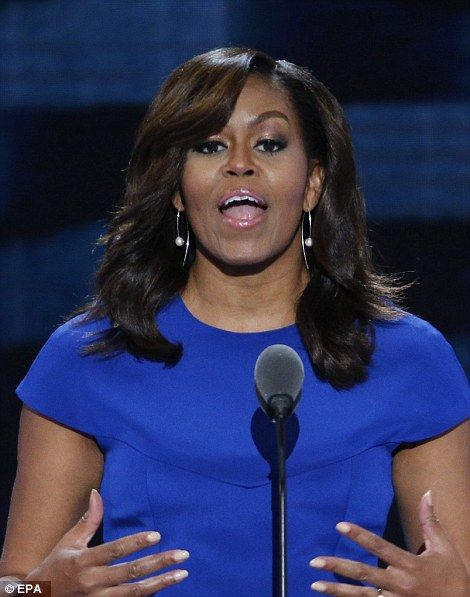 michelle obama dnc 2016 | Michelle Obama reminded voters that they need to be voting for someone ...