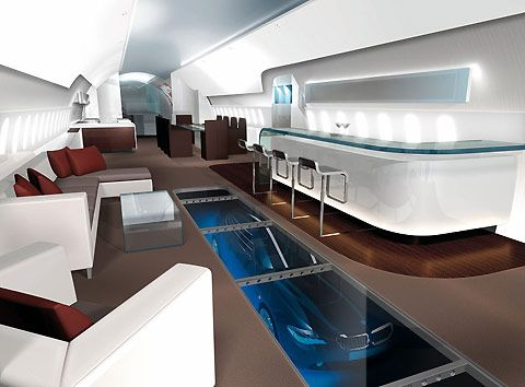 Is this the most luxurious private jet imaginable?