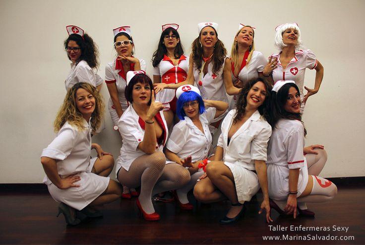 Fotos del taller Enfermera Sexy (Burlesque) www.marinasalvador.com