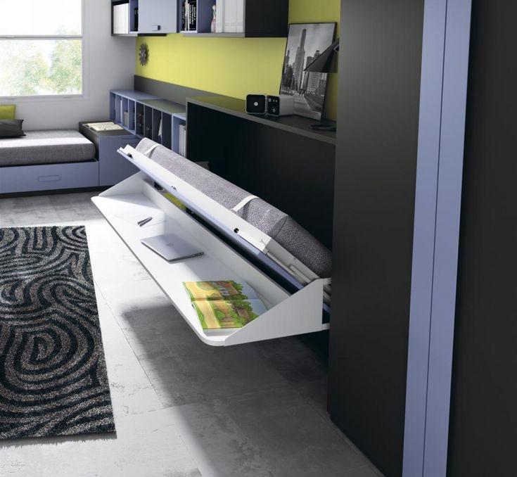 die besten 25 klappbett schreibtisch ideen auf pinterest klappbett mit schreibtisch diy. Black Bedroom Furniture Sets. Home Design Ideas