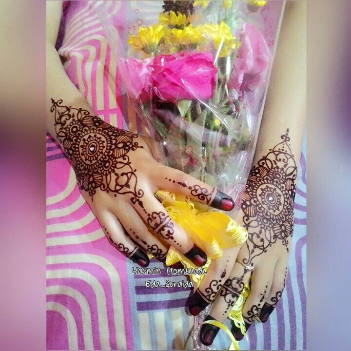 Henna wedding mbk Amy