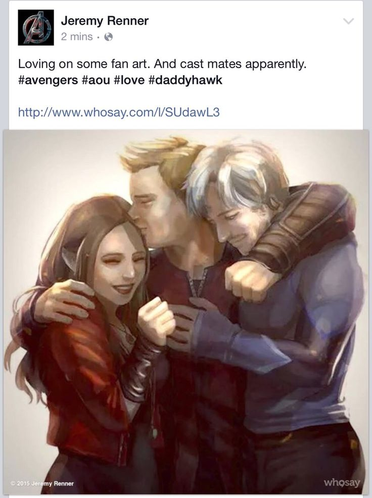 """bookfreakandfandomgeek:  fangirl-4evah:  tisheriffic:  JEREMY RENNER JUST POSTED THIS ON HIS FB AND ACKNOWLEDGED CLINT BEING LIKE A DAD TO THE TWINS USING THE HASTAG """"DADDYHAWK""""…  My heart can't take this.. ;-;  bookfreakandfandomgeek  THIS WILL ALWAYS BE MY FAVORITE THING OMG ABSBDBSBNA"""
