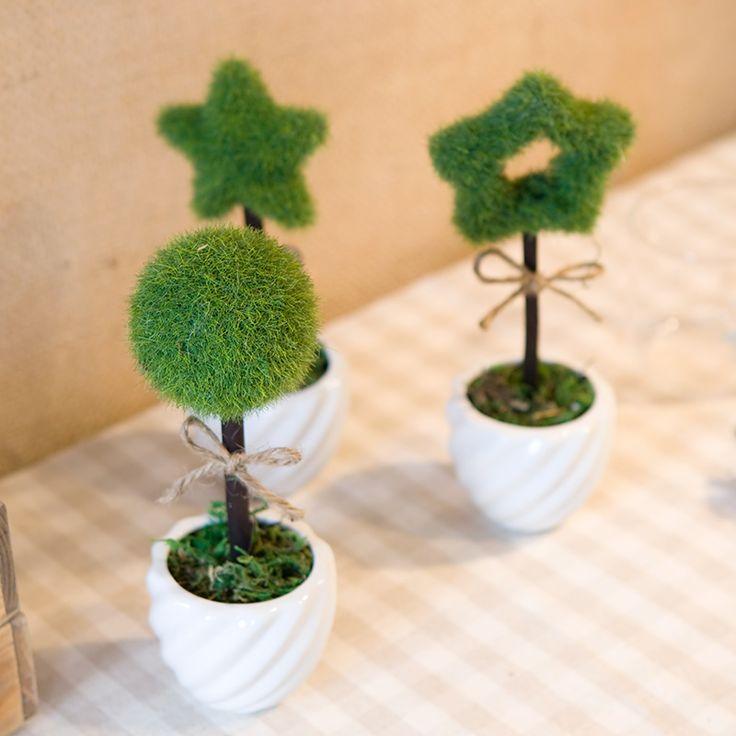 Сердца. Домашний стол мини искусственные растения бонсай
