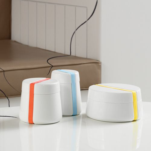 CAMMEO CONTAINERS WITH INTERCHANGEABLE BANDS