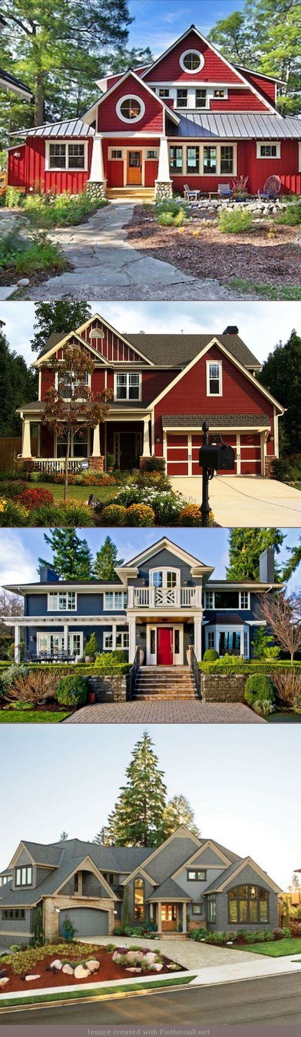 The picture at the bottom...<3.    Getting your white right on the exterior of your house is critical. For a blue or red house, it's the difference between your house looking nautical or heritage.