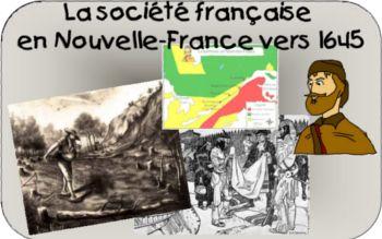 Site de l'univers social au primaire » La société française en Nouvelle-France vers 1645