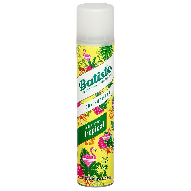 Tropical Batiste Dry Shampoo - Fruity and Exotic