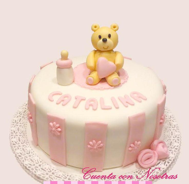 Torta baby Shower Torta osito Baby Shower Cake Teddy Cake