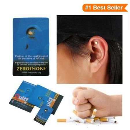 Acupressure Magnetic Smoking Patch
