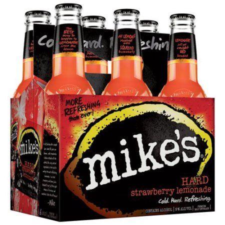 Mike's Hard Strawberry Lemonade Malt Beverage, 11.2 fl oz, 6 pack