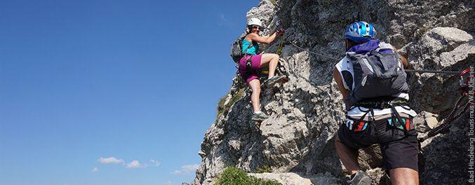 Klettersteig am Iseler im Allgäu | Foto: Bad Hindelang Tourismus/Wolfgang B. Kleiner