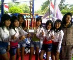 SMP 1 Manado Raih Juara 1 Lomba Dance Competition