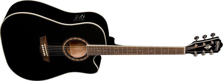 Washburn WD10SCEB Acoustic Guitar