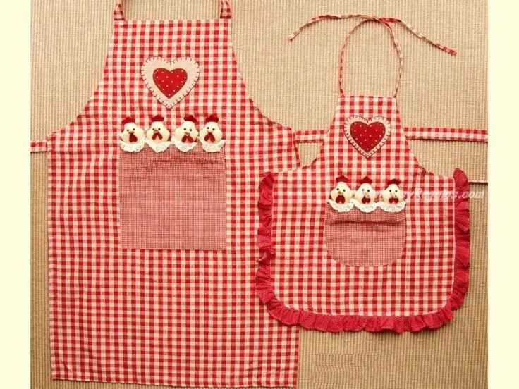 Delantales de patchwork buscar con google cosas para ver pinterest navidad labor de - Modelos de delantales de cocina ...
