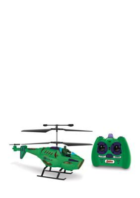 World Tech Toys Marvel Avengers Hulk Ir Hero Pilot Rc Helicopter - Green - No Size