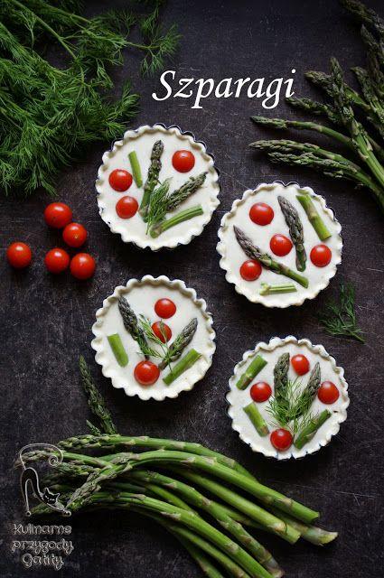 Kulinarne przygody Gatity: Tartaletki ze szparagami
