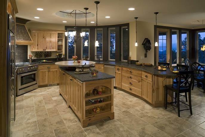 Интерьер кухни в стиле прованс - основные черты стиля, 113 фото