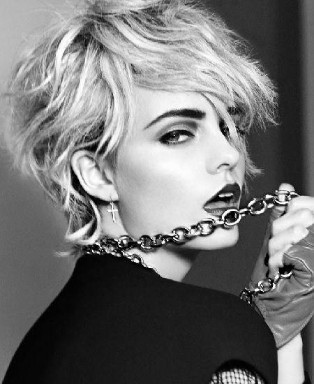 Madonna sahne saç modelleri