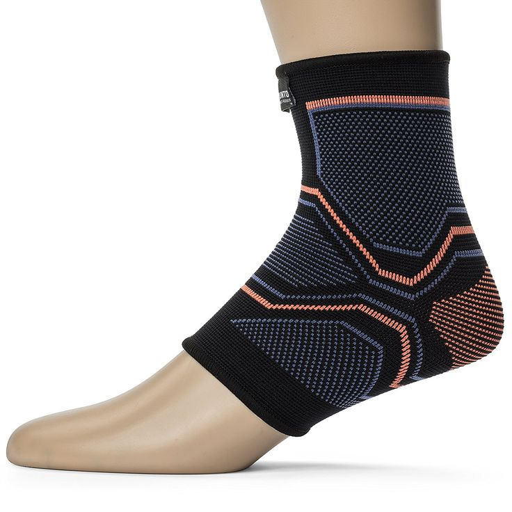 Amazon.com: Kunto Fitness Ankle Brace Compression Support Sleeve for Injury Recovery, Joint Pain, Swelling, Plantar Fasciitis & Achilles Tendon – Superior Arch Support Foot Socks for any Activity!: Sports & Outdoors