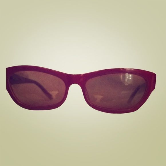 Really cool Missoni sunglasses! Super cool designer shades! Red Missoni sunglasses are beautiful on. Worn only once. Great condition. Make a statement! Missoni Accessories Sunglasses