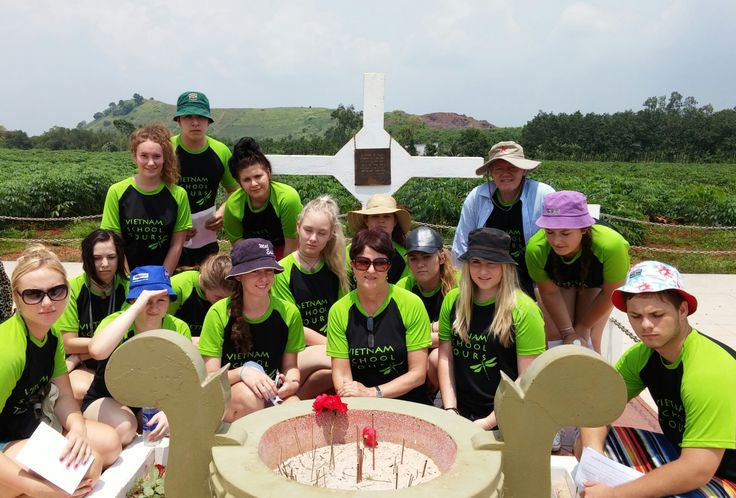 Nothing beats a 'lived experience'. #VietnamSchoolTours #LongTan