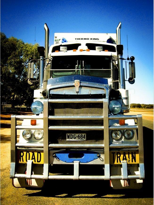 Outback Australia Road Train