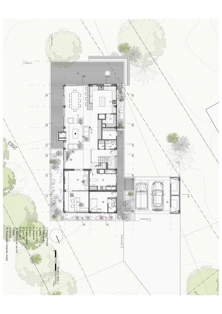 Image 21 of 37 from gallery of BO House / Plan B Arquitectos. Planta Primer Piso