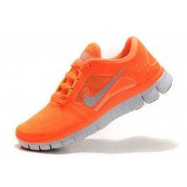 Nike Free Run+ 3 Damesko Oransje Sølv | billig Nike sko | Nike sko norge | kjøp Nike sko | ovostore.com