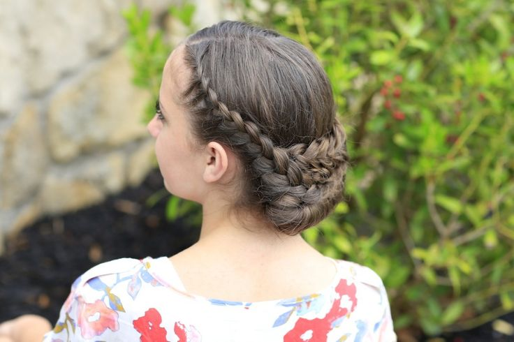 Lace Rolled Updo Cute Girls Hairstyles